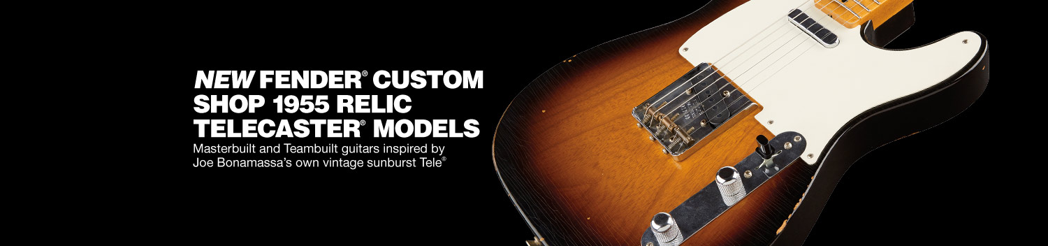 Fender Custom Shop Joe Bonamassa Vintage Collector Series 1955 Relic Telecasters
