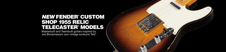 Fender Custom Shop 1955 Masterbilt Relic Telecaster Relics