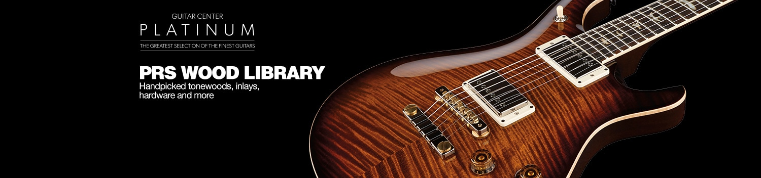 PRS Wood Library Guitars