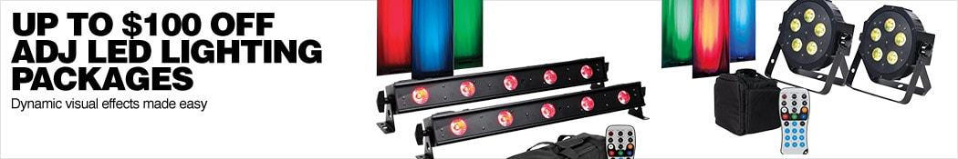 Up To 100 Dollars Off Adj Led Lighting Packages Dynamic Visual Effects Made Easy