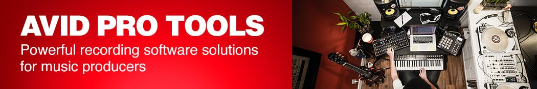 Avid Pro Tools.  Powerful recording software solutions for music producers.
