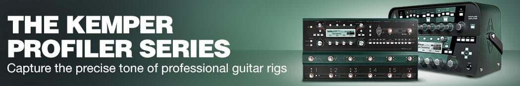 The Kemper Profiler Series. Capture the precise tone of professional guitar rigs.