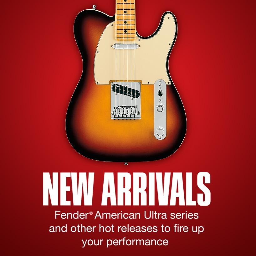 New Arrivals—Fender American Ultra series and other hot releases to fire up your performance
