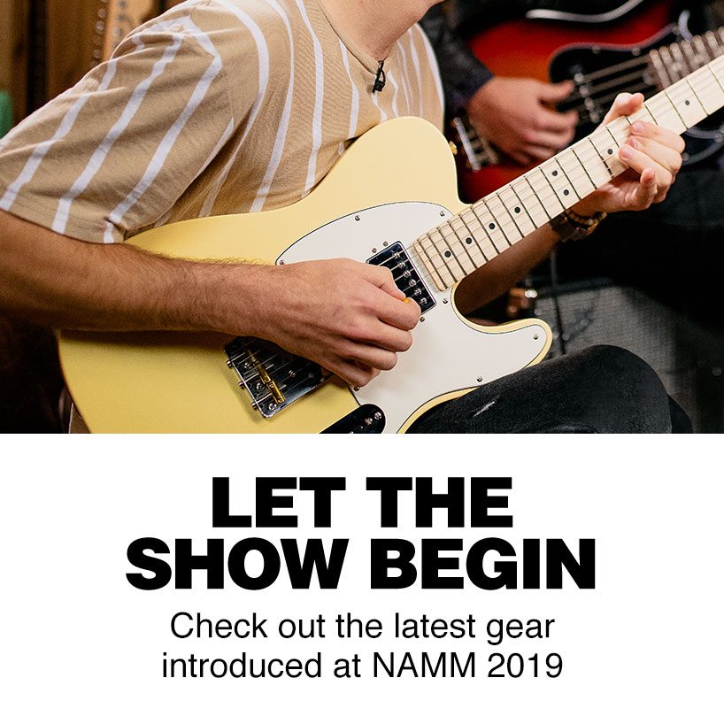 Let the show begin. Check out the latest gear introduced at NAMM 2019.