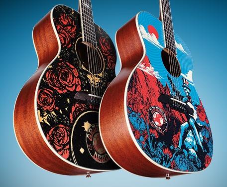 Alvarez Grateful Dead OM Guitars