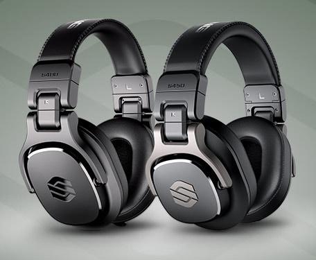Sterling Audio S400 & S450 Studio Headphones