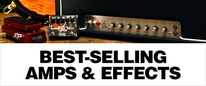Best-Selling Amps & Effects