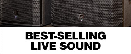 Best-Selling Live Sound
