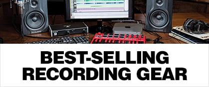 Best-Selling Recording Gear