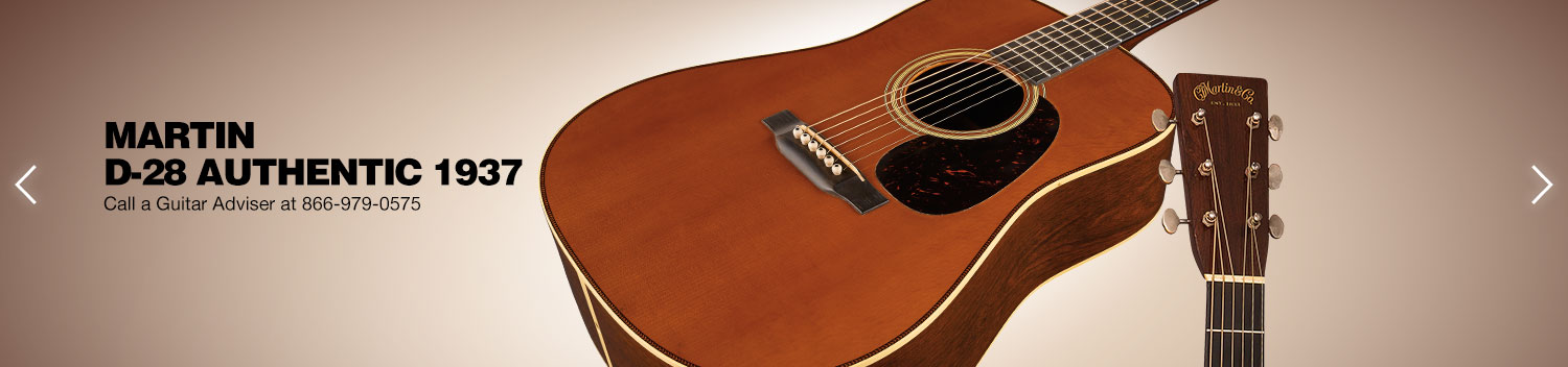 Martin D-28 Authentic 1937. Call a Guitar Adviser at 866-979-0575.