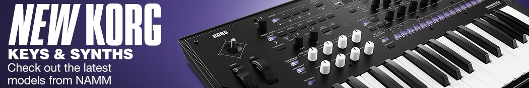 New Korg Keys & synths. Check out the latest models from NAMM.