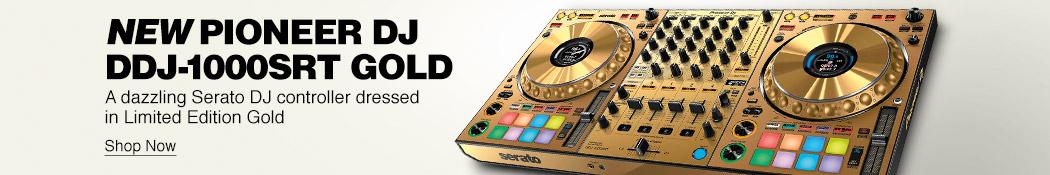 New Pioneer DJ DDJ-1000 SRT Gold. A dazzling Serato DJ controller dressd in Limited Edition Gold. Shop now.