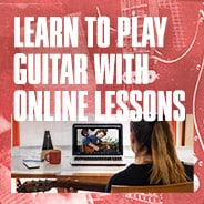 LEARN TO PLAY GUITAR WITH ONLINE LESSONS