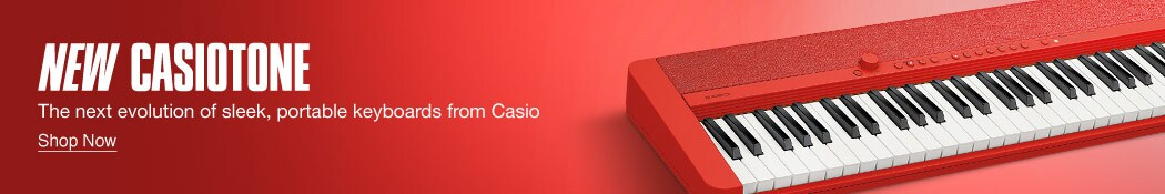 New Casiotone. The next evolution of sleek, portable keyboards from Casio. Shop now.