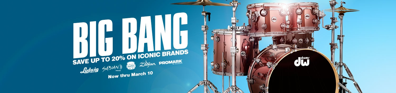 Big Bang. Save up to 20 percent on iconic brands. Now through March 10.